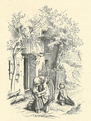 Régi könyv illusztráció