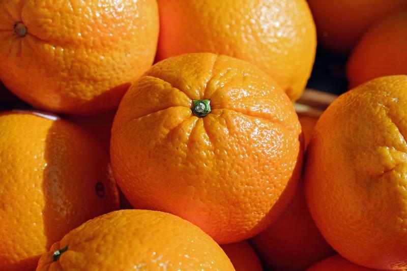 Kipreparált narancsok